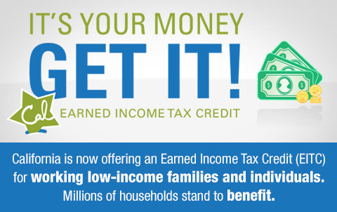 New Earned Income Tax Credit Available for Low Income Families