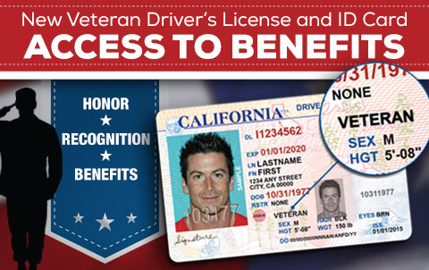 Special Driver's Licenses and Identification Cards Help Veterans Gain Access to Benefits