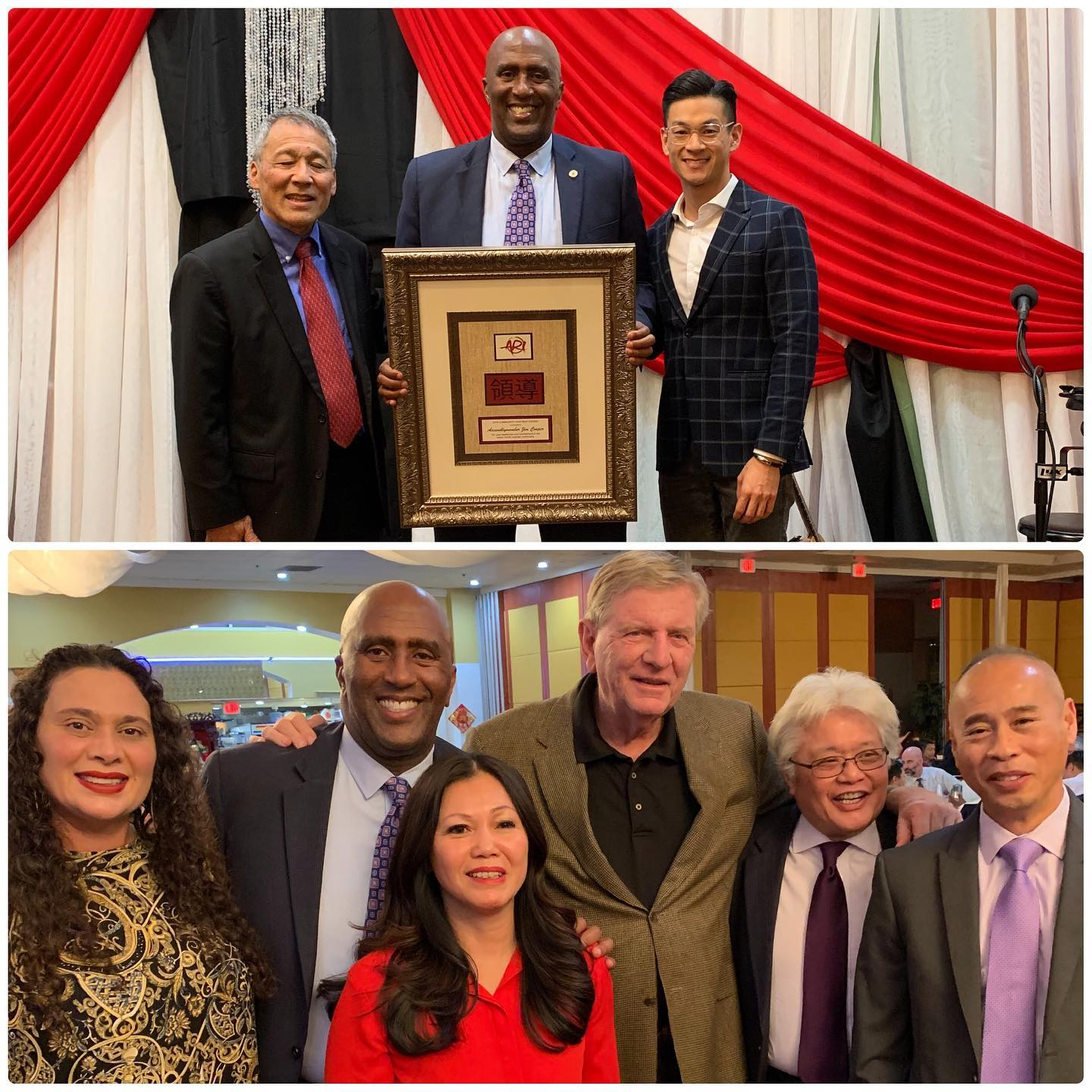It was such a privilege to receive a community service award from Asian Resources Inc. The surprise presentation by my friend and colleague, Assemblymember Evan Low (who did more roasting than presenting), was unforgettable.