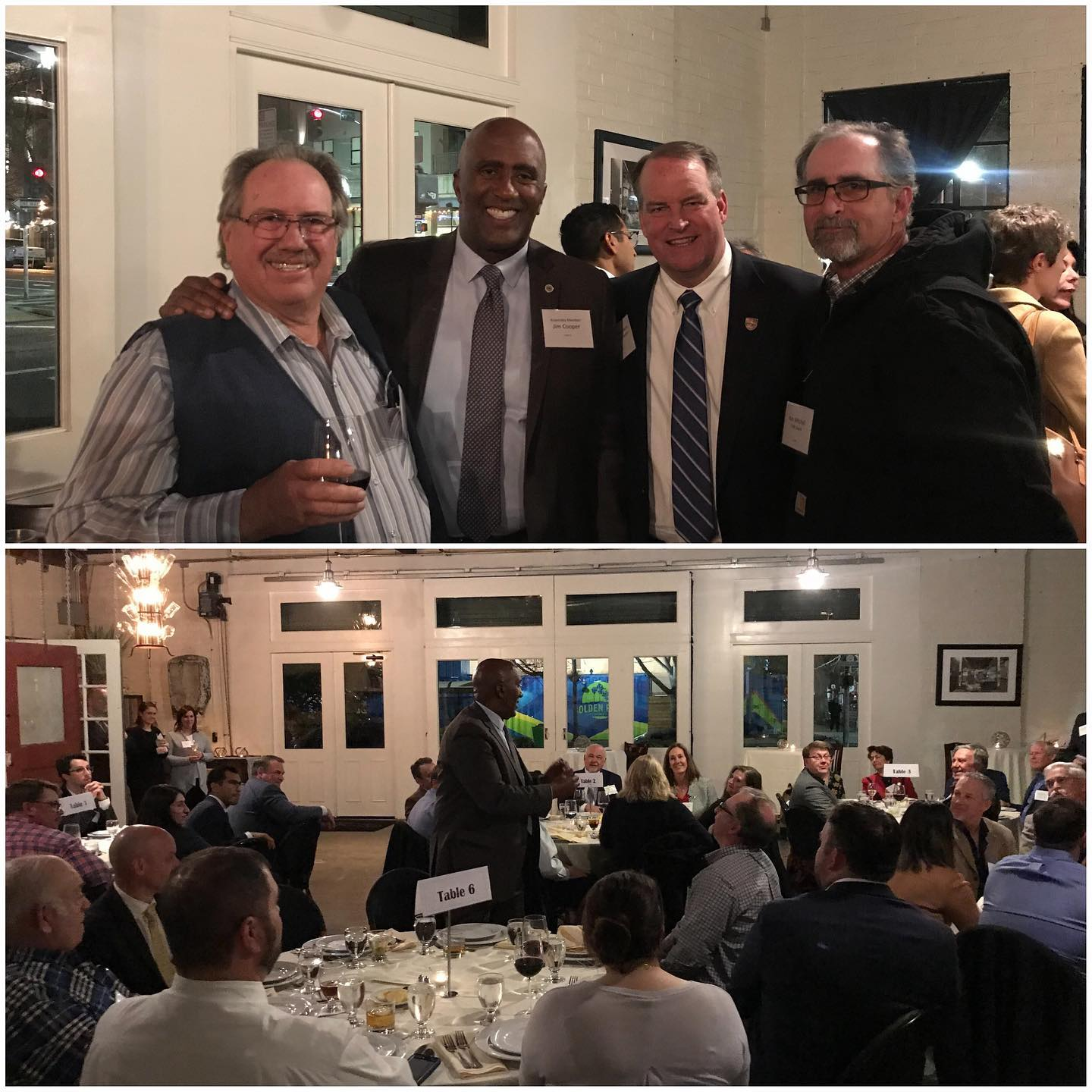 I was happy to join the California Farm Bureau for their dinner in Sacramento. It's so nice to meet folks from up and down the state who contribute to our state's #1 industry, agriculture!