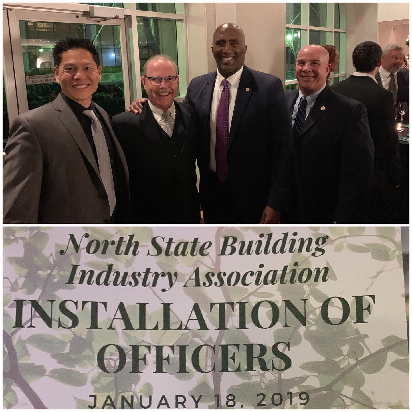 """Last month, I was recognized with a """"Friends of Housing"""" award by the North State Building Industry Association.  Thank you NSBIA, it is an absolute honor receive this recognition."""