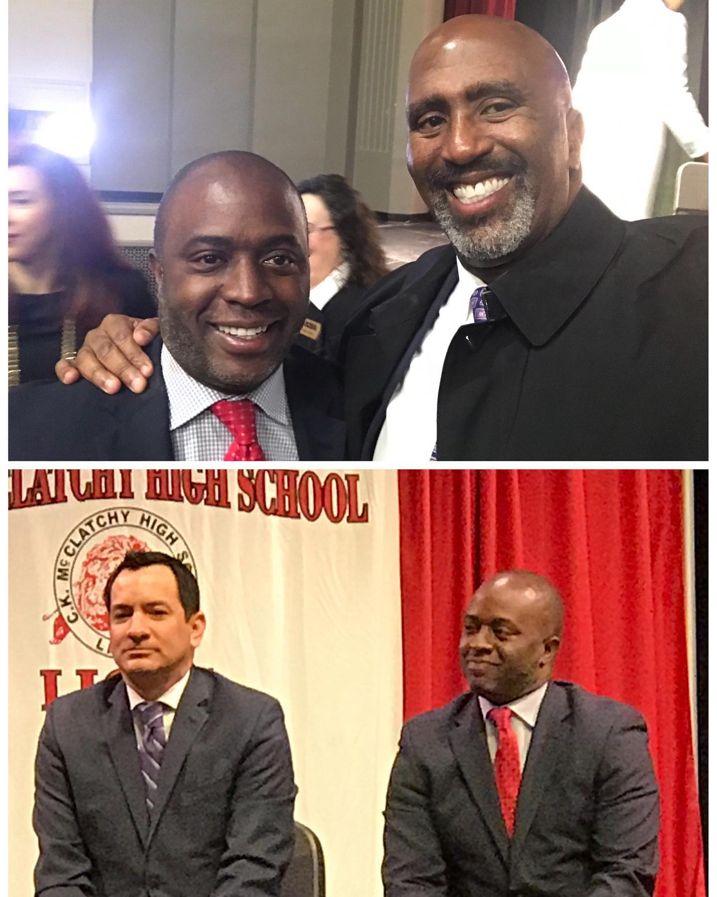 Congratulations to my friend, Tony Thurmond, on being sworn in as our new State Superintendent of Public Instruction.