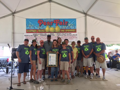Courtland 44th annual pear fair