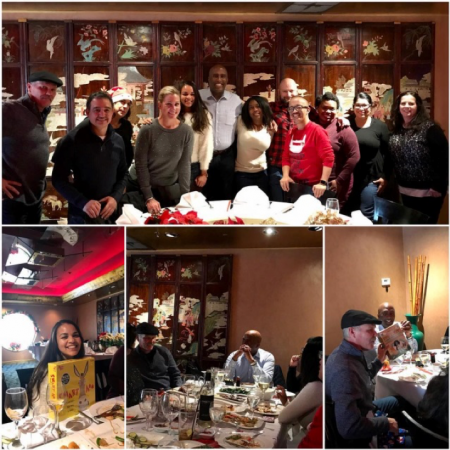 I had a wonderful time celebrating the holidays with my amazing staff. Big thanks to the entire team for all of your hard work!