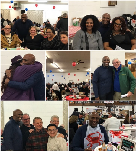 Attended another amazing crab feed with the hard-working men and women of the Sacramento Central Labor Council! Great way to kick off 2018!