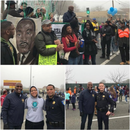 I was proud to march with our community at Sacramento's MLK365 March for the Dream honoring Martin Luther King Jr. and his ideals. Thank you to everyone who got out and marched!