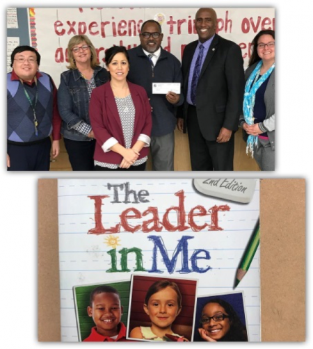 "It gives me great pleasure to present a $5,000 check from the Barona Band of Mission Indians to John Still Middle School. Barona's generous donation will help purchase copies of ""A Leader in Me"" for each student at this Title-1 school in South Sac. This book will help students learn about leadership and how to become a positive influence on others, something that is vital for them to learn while in junior high. A huge thank you to the entire Barona Nation of the San Diego area for your unwavering generosity"