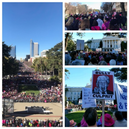 With approximately 30,000 people at 2018 Women's March, Sacramento was one of hundreds of events across the world that reminds us of how strong we are when we work together!