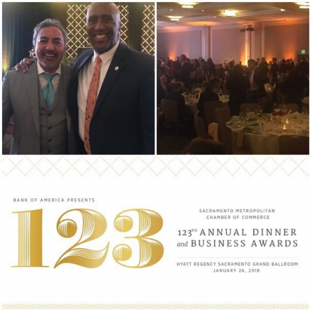 I had a fantastic time at the 123rd Sacramento Metro Chamber annual dinner. Great to see our fearless DC Representive from Elk Grove, Dr. Ami Bera!