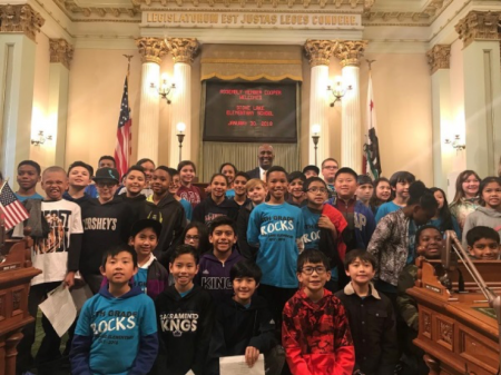 It was great to see kids from Stone Lake Elementary at the Capitol participating in this year's Capitol Scavenger Hunt.