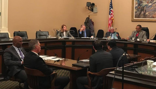 Here is a shot from my first committee hearing of the year.  I was proud to present two very important bills, AB 16 & AB 875 which will help solve cold cases and combat serial theft.