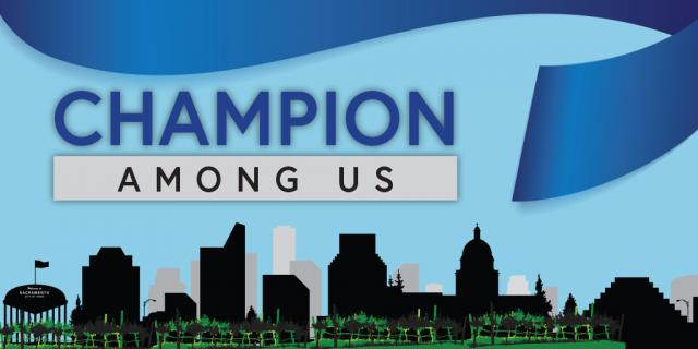 Champion Among Us Graphic