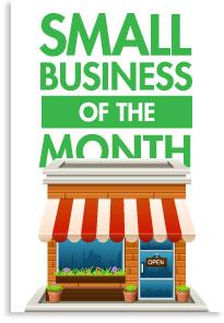 Small Business of the Month Graphic