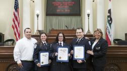 2019 Ambulance Association Stars of Life on the Asembly Floor