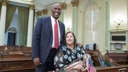 Assemblymember and Kathy Brelje
