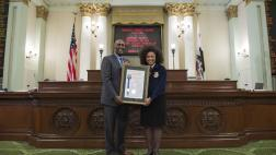 Assemblymember Cooper Honors New Future Farmers of America President, Breanna Holbert with Assembly Resolution
