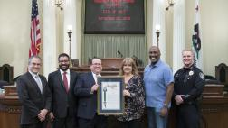 Presentation of Assembly Resolution on the Assembly Floor by Assemblymember Cooper to the City of Galt