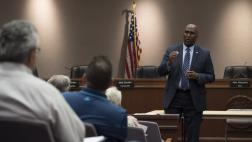 Assemblymember Cooper at Lodi Town Hall
