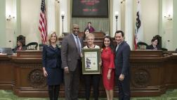 "Assemblymember Cooper Honors Woman of the Year Katherine ""Kay"" Albiani"
