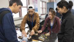 Students at the STEM Event